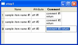 Qt (B2) Input Multi-line with QTableWidget : OFF-SOFT net