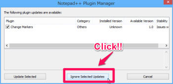 plugin manger window